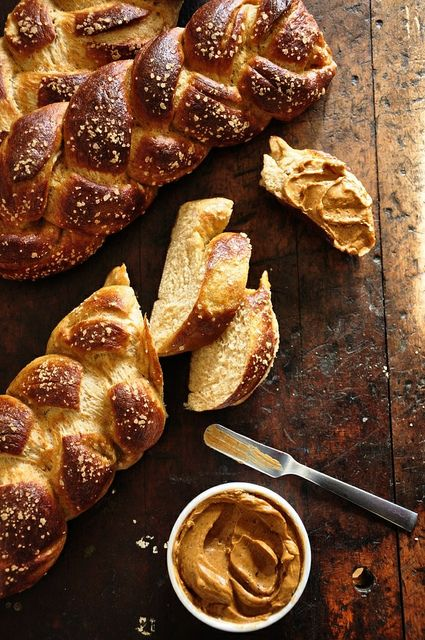 pan bread bread shop pretzel bread challah butter recipe pane pretzels ...