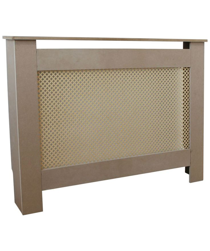 Buy HOME Odell Medium Radiator Cabinet - Raw at Argos.co.uk - Your Online Shop for Heaters and radiators, Radiator covers.