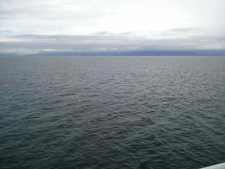 On the ferry, heading to Vancouver Island, BC
