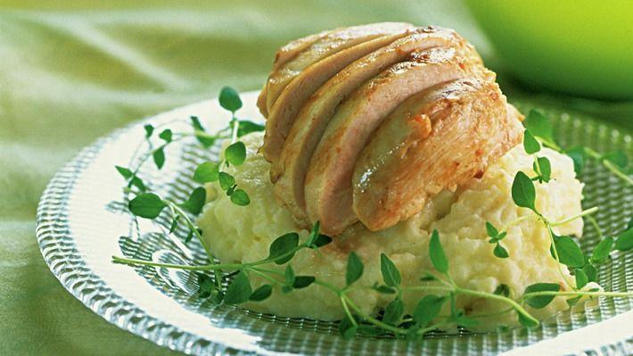 Kyllingfilet med potet- og sellerimos - Kos - Oppskrifter - MatPrat