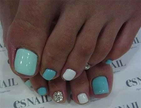 20 + Easy & Simple Toe Nail Art