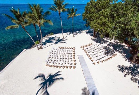 Beach Weddings in The Florida Keys - Key Largo Lighthouse.  Easy to reach at the top of the Florida Keys.