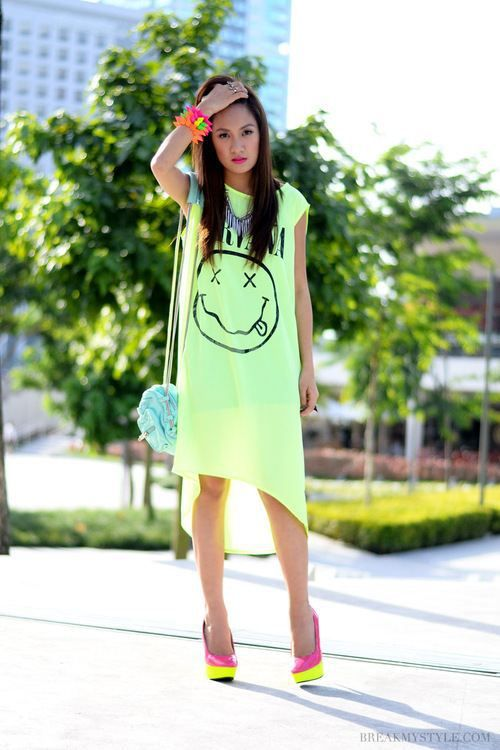 Neon Fashion : theBERRY