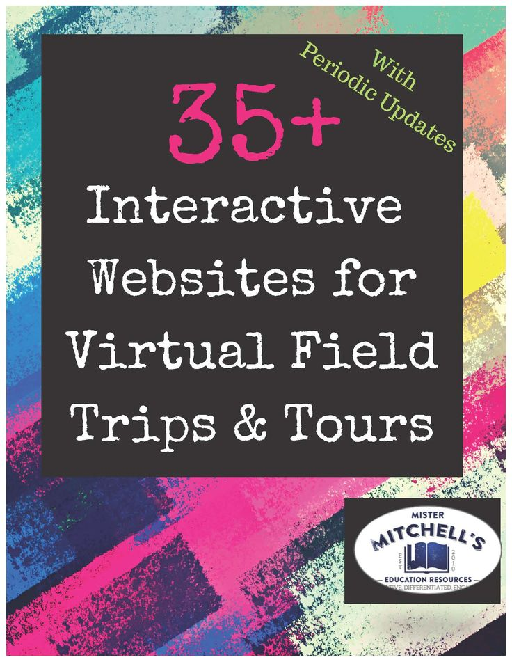 ALWAYS free! 16,000+ downloads! Take students on interactive tours and virtual field trips! Now updated with 360-degree YouTube videos for simple VR!