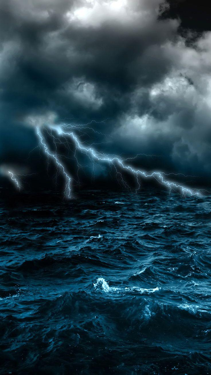 Storm scene   Natural Disaster in 2019   Ocean storm, Sea ...