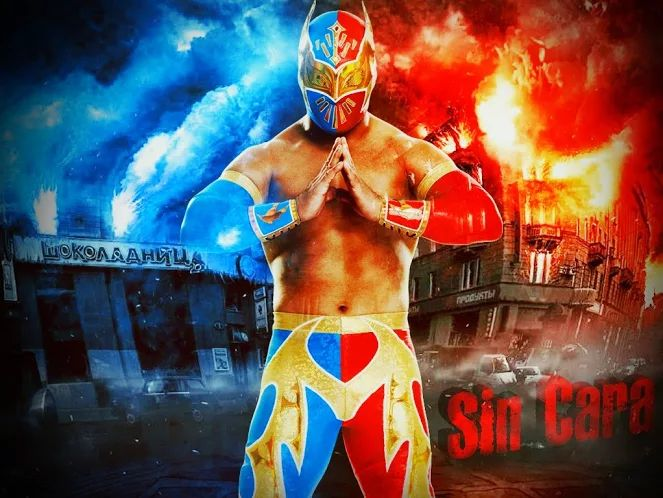 Sin Cara is Fire and Ice