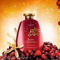 #Oriflame pěna do koupele #Berry #Christmas Pěna do koupele Berry Christmas s vánoční vůní.  www.krasa365.cz