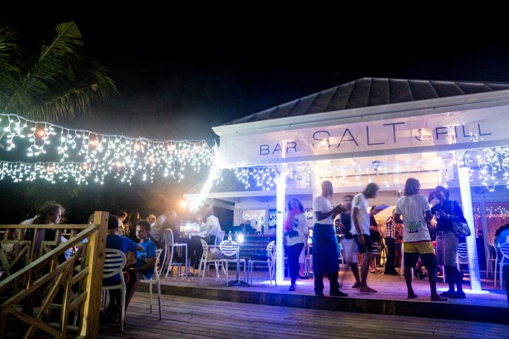 Menu And Reception Set Up At Sibonne In The Turks And: Caribbean Travel Collection