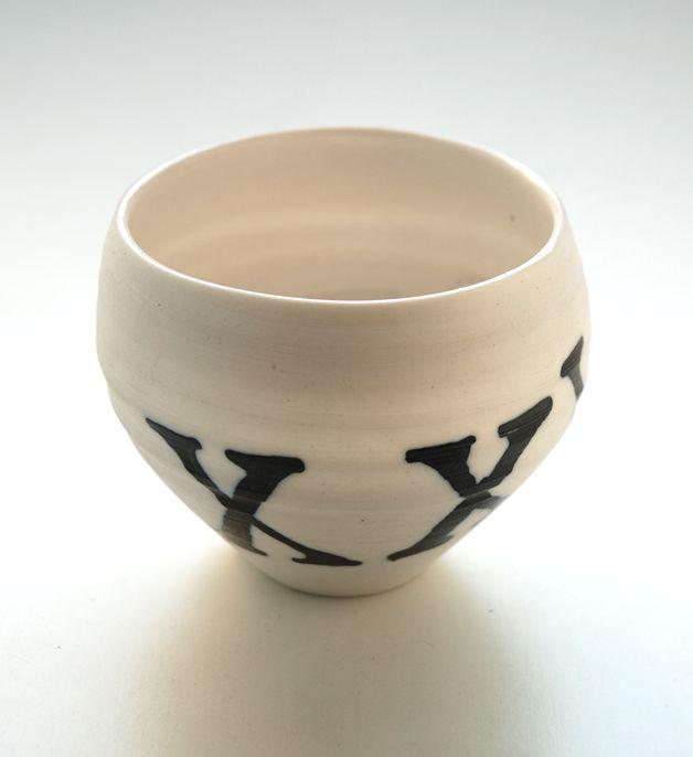ciotolina in porcellana XXV. diametro cm.8. h.cm.8