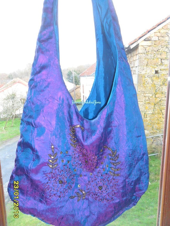 Psychedelic Tote Bag  Made In India  Found by JanniesJunkandJems, €35.00