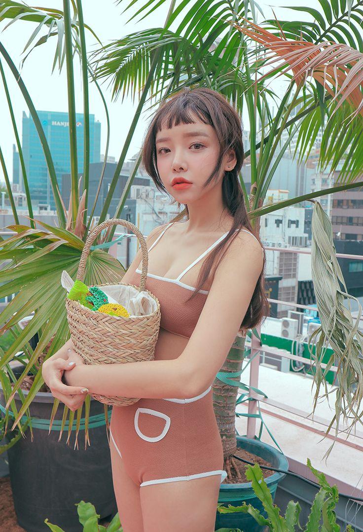 パイピングラインビキニ | レディース・ガールズファッション通販サイト - STYLENANDA