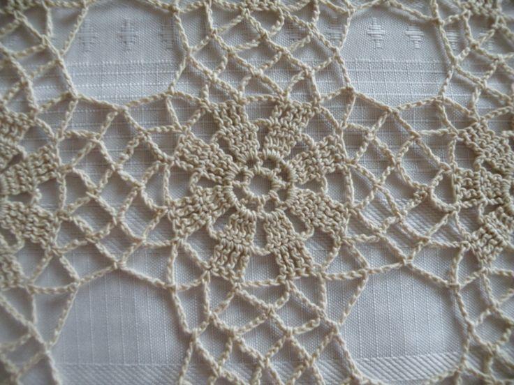 join as you go lacy crochet motifs   Amazing Thread Crochet Tablecloth   the cozy dinosaur