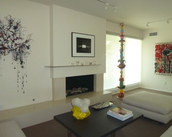 Artistic Living Space Design In Gallery Decorating Concept Incredible Tarzana Art House Interior With