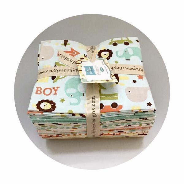 18 Fat Quarter Bundle - Oh Boy! Collection - Riley Blake Designs – Pins & Needles Fabrics