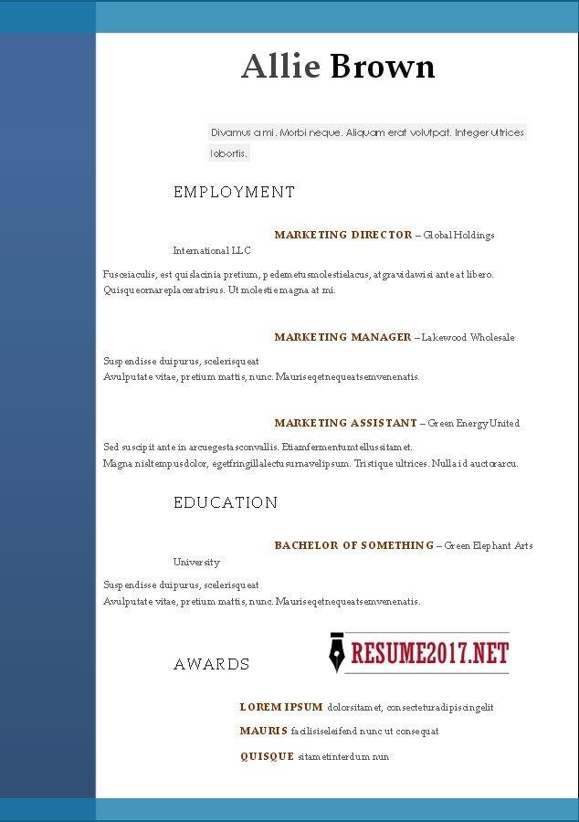Více než 25 nejlepších nápadů na Pinterestu na téma Free resume - free resume builder yahoo