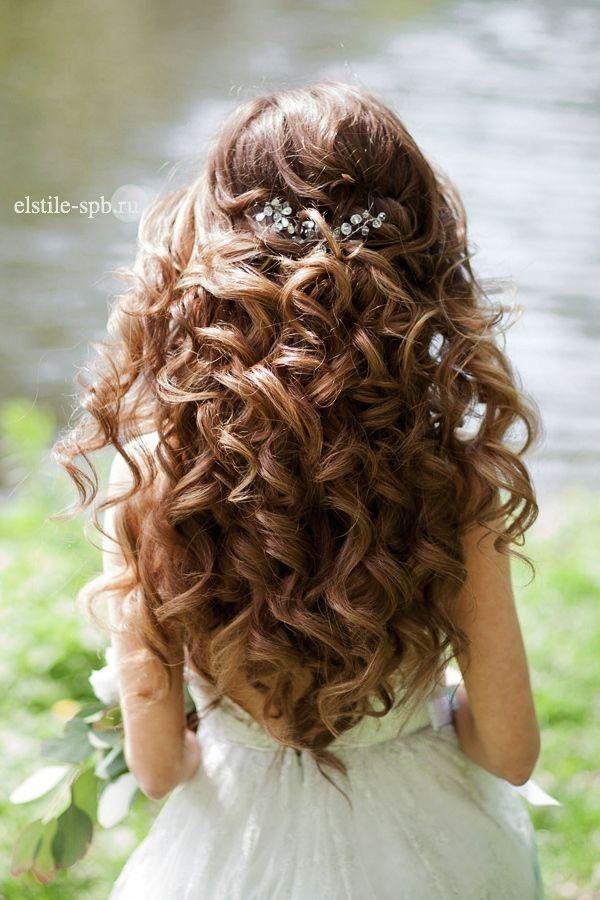 curly bridal hair ideas