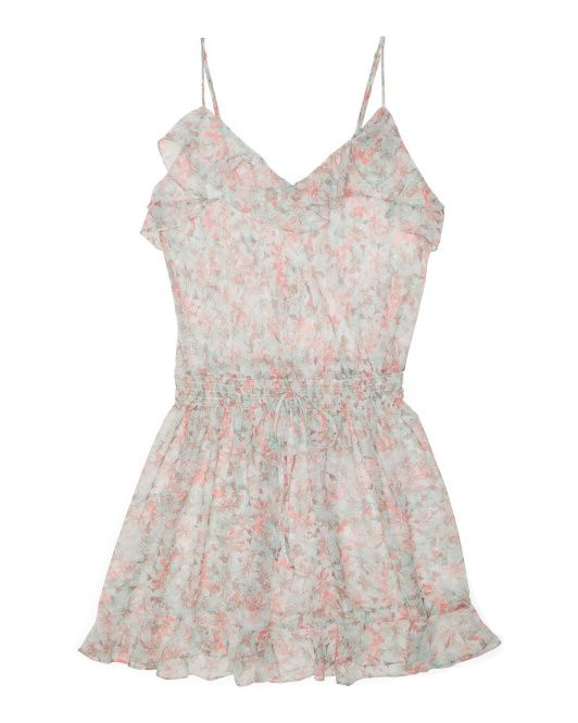 Made+In+USA+Chiffon+Chemise