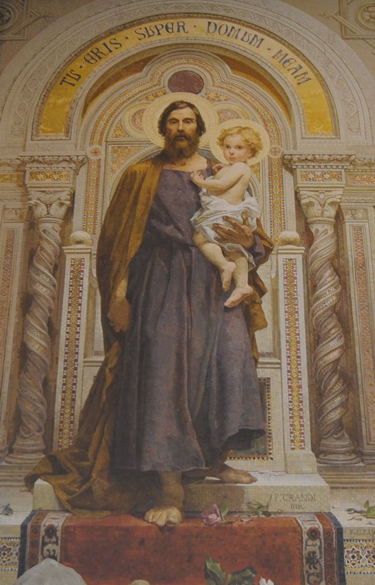 Saints And Angels Oracle Cards: 43 Best Saint Joseph The Carpenter Images On Pinterest