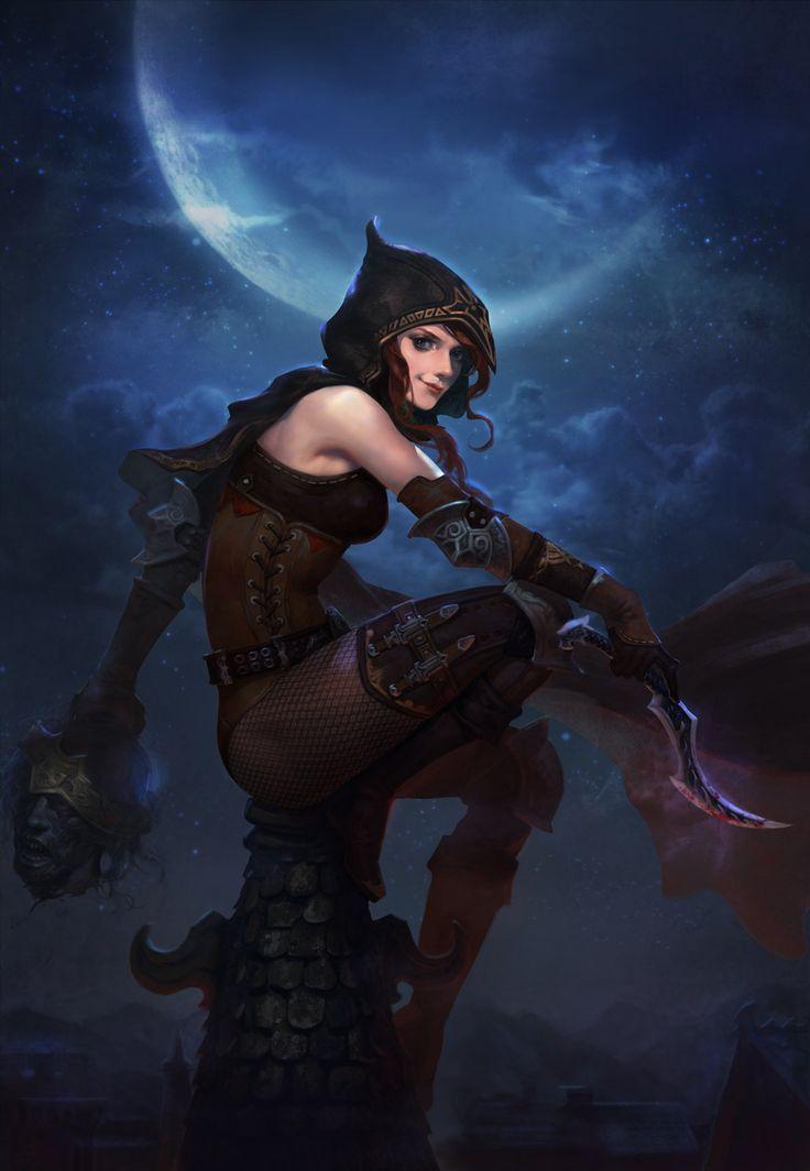 Master-CazCaz: spassundspiele:   Assassin – fantasy character...