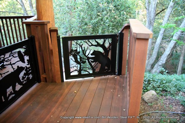 Deck Railing Panels Wildlife Recently Added Click To
