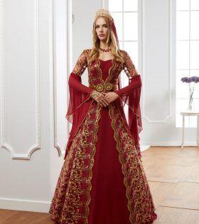 6215860575 Traditional Kaftan Dress in 2019   Clothes   Turkish wedding dress ...