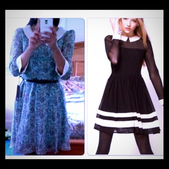 2 for 1 dress sale! Two dresses- both adorable! I love both of these dresses and have tried to make them fit but sadly it's just not happening! I purchased both from another Posher. Have never been worn and have been hanging in my closet! Pictures do no justice at all! ASOS Dresses