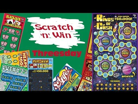 Scratch n Win Threesday Rings of Cash - YouTube