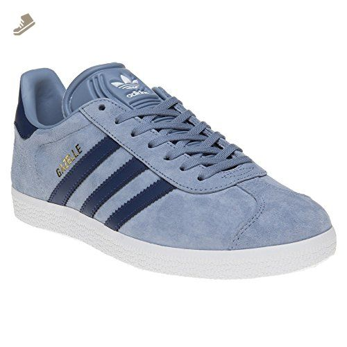 adidas Gazelle W Womens Trainers Blue Navy - 5 UK - Adidas sneakers for  women (