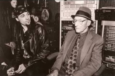 Al Jourgensen and William S. Burroughs