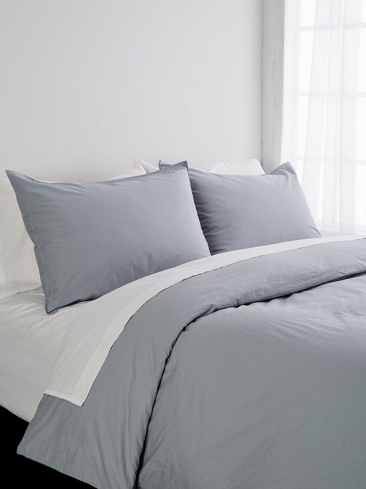 Washed Martine Duvet Set by Sewn & Made at Gilt