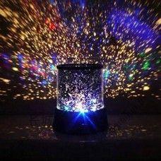 Värikkäät tähdet Cosmos Laser -projectori ABS