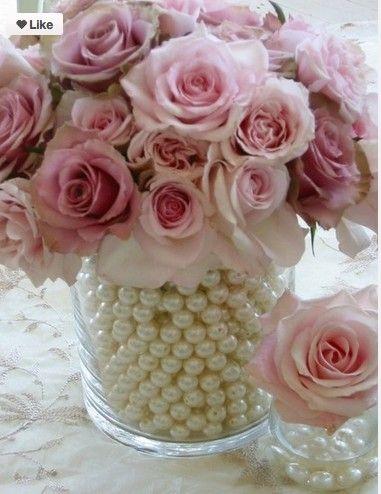 Pink center pieces