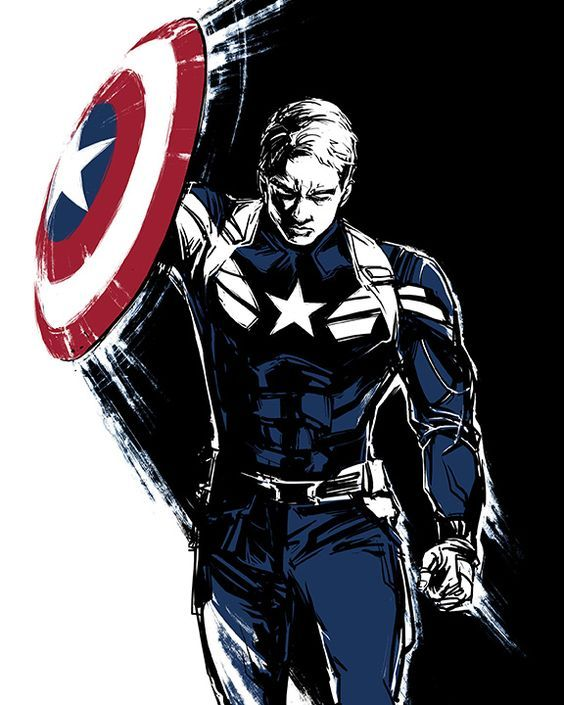 Captain America by Irene Flores: