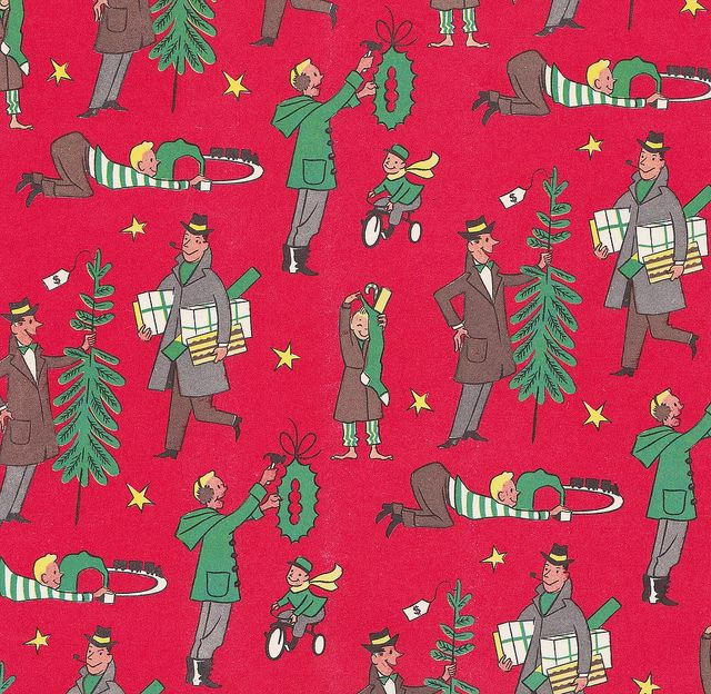 vintage wrapping paper: Vintage Wraps, Vintage But, Vintage Christmas, Wrapping Papers, Paper Gifts, Vintage Wardrobe, Gifts Wraps, Christmas Wraps Paper, Christmas Gifts