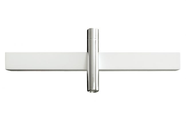 Stylish wall mount bath faucet by Aquabrass / Blok Collection