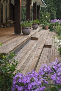 Love the wide, long steps