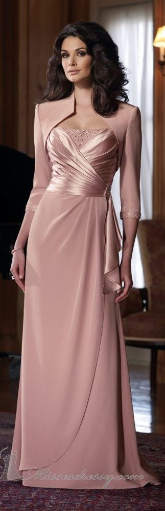 2014 New Mother of the Bride Wedding Gown Prom Evening Party Dresses Custom Size