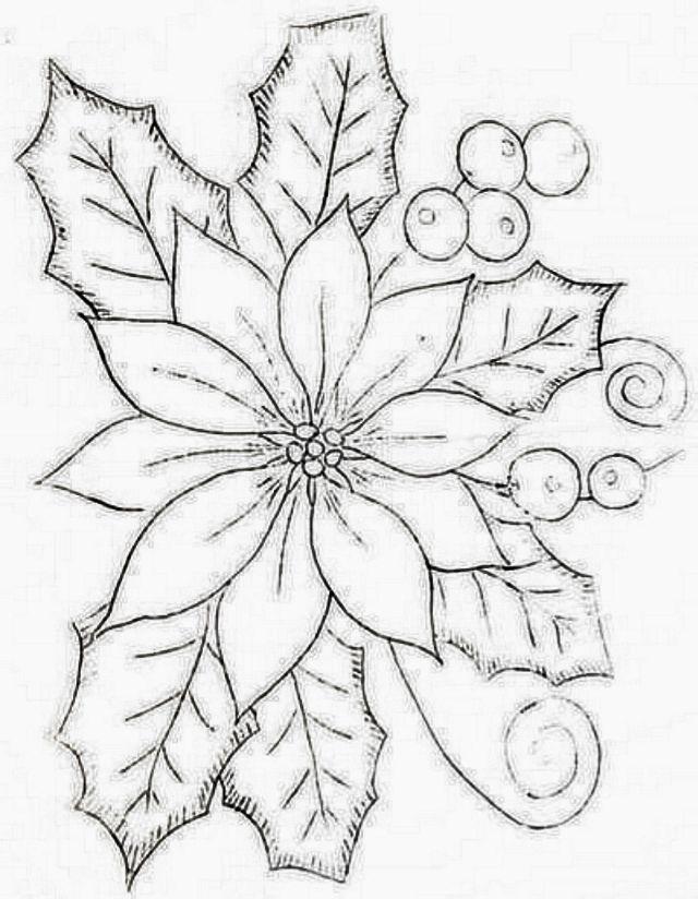 Pin De Veronica En Adornos Para Este Ano Dibujo Navidad Para Colorear Dibujos De Nochebuenas Arbol De Navidad Para Colorear