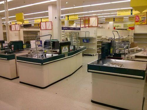 Abandoned Supermarket in UK