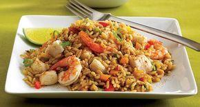 Insalata di riso alla marinara