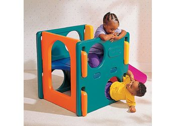 Little Tikes Junior Activity Gym   Junior Gym For Climbing, Sliding,  Crawling And Peek A Boo Fun. Compact For Indoor Or Outdoor Play.
