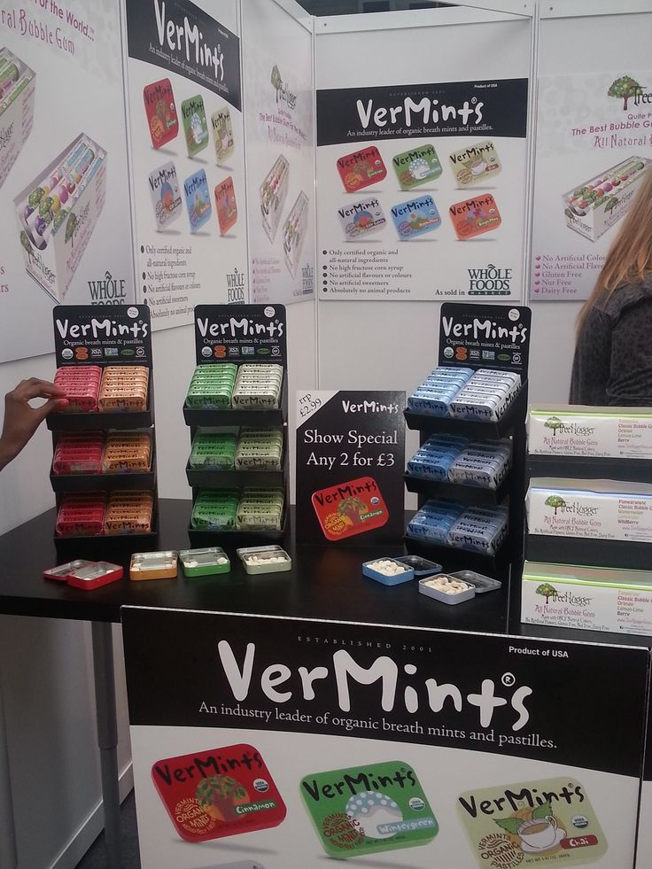 Yummy scrummy #vermints! Natural and delicious.