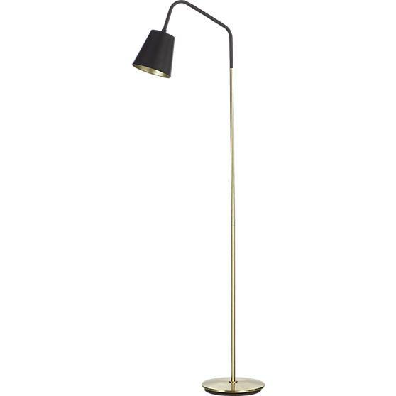 Cb2 crane floor lamp floor lamp downtown lofts and for Cb2 disk floor lamp