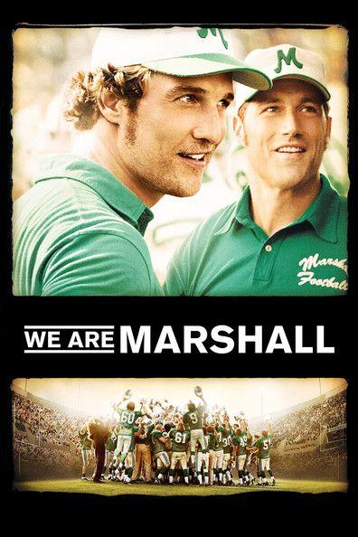 We Are Marshall (2006) Regarder We Are Marshall (2006) en ligne VF et VOSTFR. Synopsis: L'histoire vraie de l'Université de Marshall, qui a perdu dans un crash aérien 75 ...