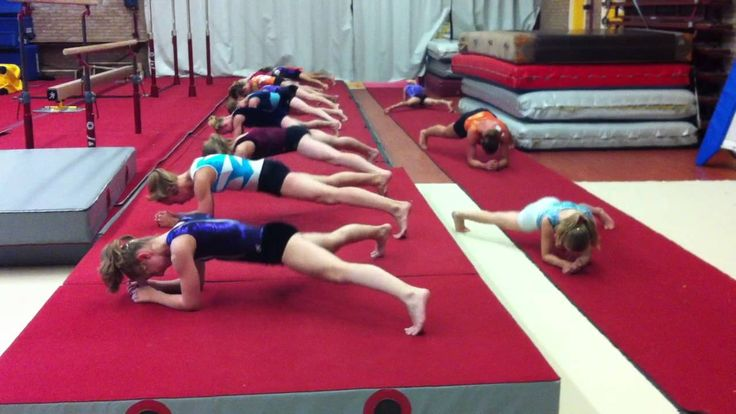 L's Daily  Gymnastic Ab Workout http://www.youtube.com/watch?v=Stdb6acajX4