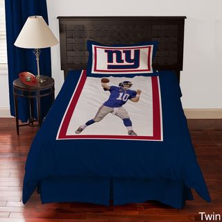 @Overstock.com.com   New York Giants Eli Manning 4 Piece Comforter