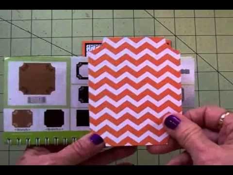 "▶ ""MR. BONES"" CRICUT HALLOWEEN CARD - YouTube. Cricut cartridges used- Create a Critter 2, Elegant Edges."