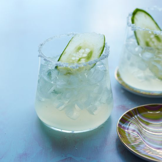 Cucumber Margarita: The only thing more refreshing than a margarita is one made with cucumbers. The cucumber-infused tequila also makes a great punch.