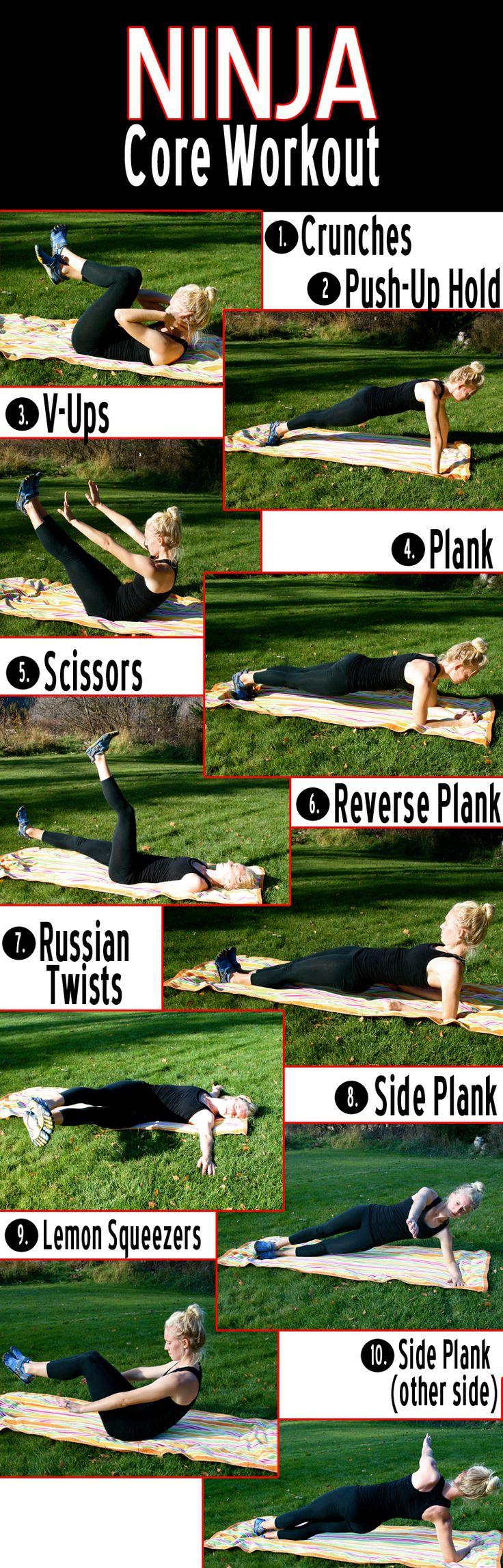 Vaulter Fit | Ninja Core Workout
