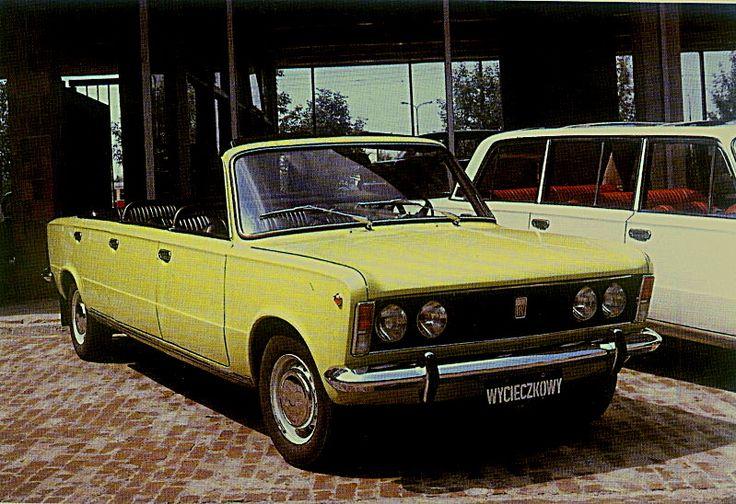 """Fiat 125p Cabrio """"Jamnik"""""""